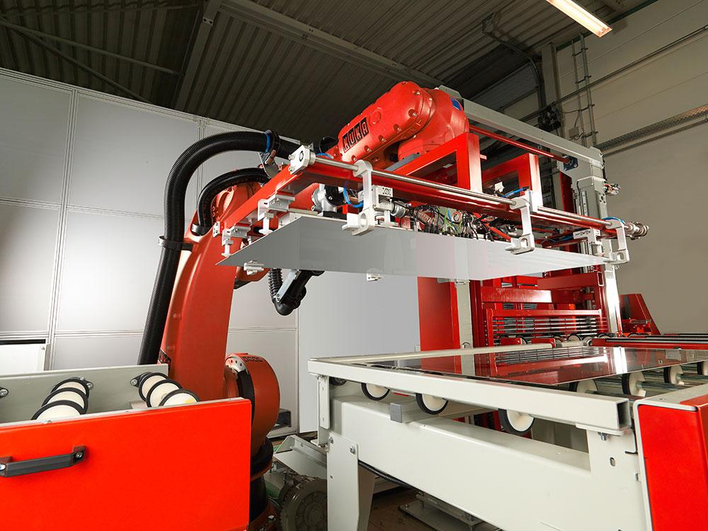 Grenzebach Solar Roboter 3