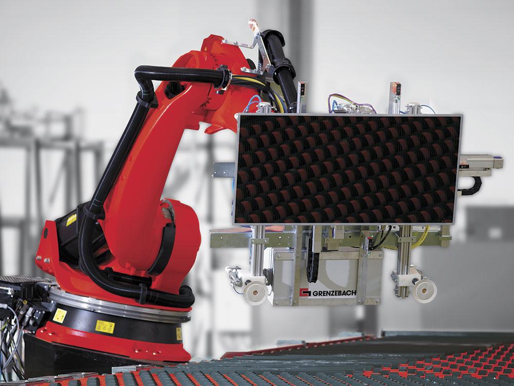 Grenzebach Solar Roboter 1